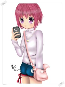 girl_anime_with_her_phone_by_piepienyo-d4f0x42.png